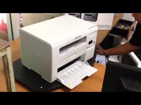 ทดสอบเครื่องพิมพ์ Samsung SCX-3405 MLT-D101s