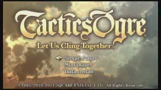 Tactics Ogre - Let us cling together - Ep 1