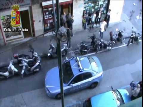 A Napoli arresti in