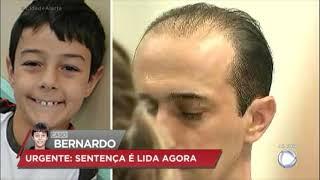 Pai e madrasta são condenados pela morte do menino Bernardo