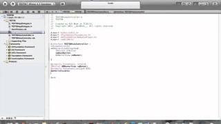 Coding the View Controller H file in xcode (part 2 of creating and publishing app series)