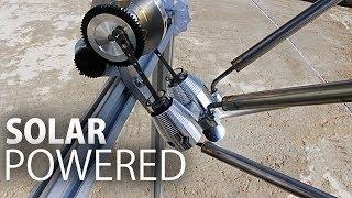 Solar Powered Stirling Engine
