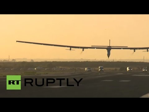 Spain: Solar-powered plane completes first-ever trans-Atlantic flight