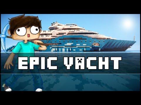 Minecraft Epic Yacht
