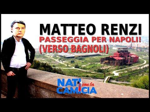 """Matteo RENZI passeggia per Napoli! Ecco la """"CALOROSISSIMA"""" accoglienza!"""