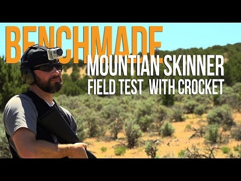 Benchmade Mountain Skinner   Field Test