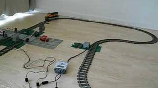 LEGO Mindstorms NXT Automatic Rail Road Crossing 1