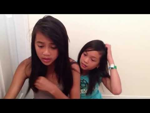 Play it again Becky g cover by Valerie and Tia