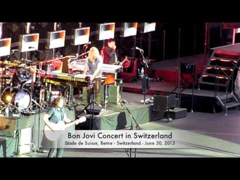 Bon Jovi Concert In Switzerland 2013 video