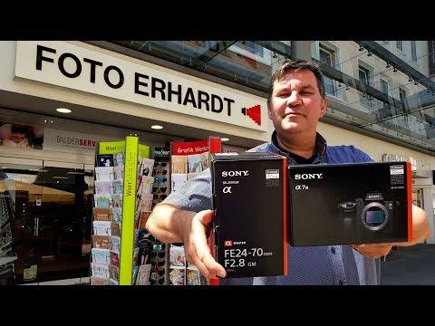 Sony A7III mit Sony FE 24-70mm F2.8 G-Master Praxistest Deutsch. Danke an Foto Erhardt