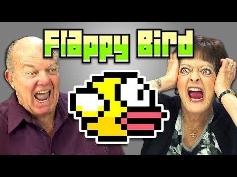 ELDERS REACT TO FLAPPY BIRD