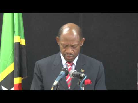Election Writs Issued - Statement by St. Kitts-Nevis Prime Minister