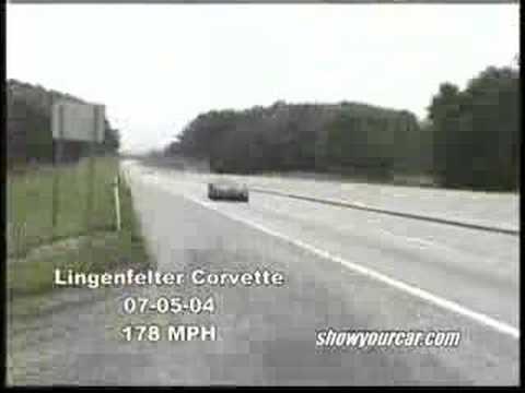 C5 Corvette Lingenfelter 178MPH