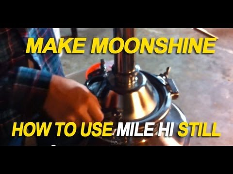 Making Whiskey - Mile Hi Still - Moonshine - Reflux & Pot still