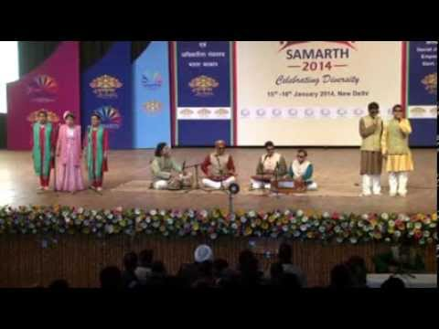 Yeh Honsla kaise Jhuke SONG BY VISUALLY CHALLENGED Children...