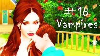 The Sims 4 Вампиры #18 / ПРОПАЖА! / Stacy