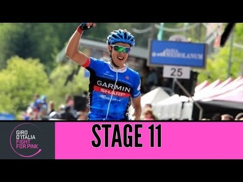 Giro d'Italia 2013 Tappa / Stage 11 Official Highlights