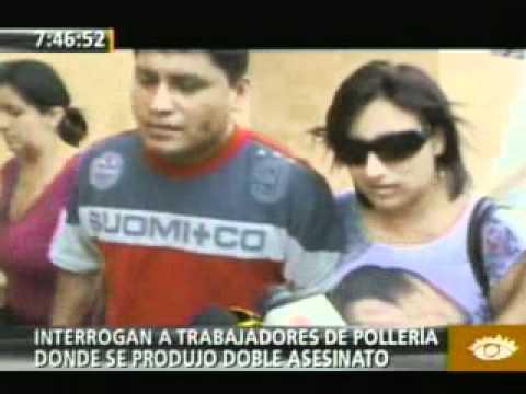 RODOLFO ORELLANA RENGIFO Trabajadores de pollería Norky's de Santa Anita fueron interrogados en la Divincri   América Televisión