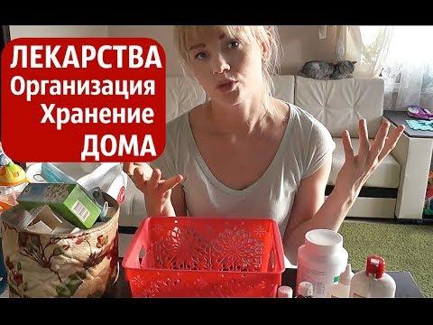 Хранение ЛЕКАРСТВ в ДОМЕ/ Разбираю Аптечку