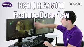 BenQ RL2450H Gaming Monitor with Josh deathdoG Edwards
