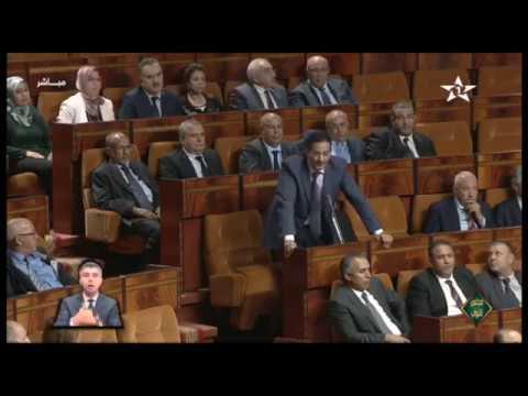 البرلماني المهاجري ينقل احتجاجات عمال مناجم سكساوة الى البرلمان وينفجر في وجه يتيم