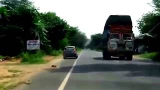 Live Accident by stupid Car driver   died at a time