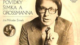 POVÍDKY ŠIMKA A GROSSMANNA 1 (celý album) - číta Miloslav Šimek (1979)_Rip vinyl LP