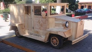 TLAXCOMOVIL Carro de madera (wood car)