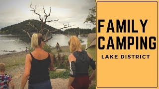 Family Camping Lake district