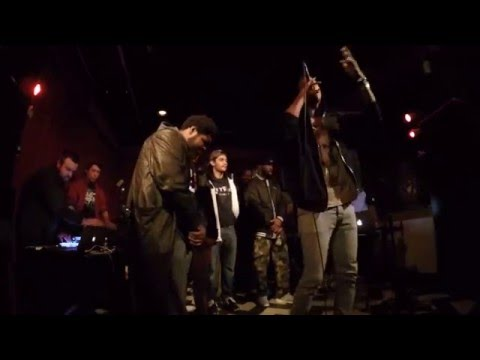 "BALTIMORE BOOM BAP SOCIETY: ""OPEN CYPHER"", Live @ The Windup Space, Baltimore, 2/3/2016 (alt. angle)"