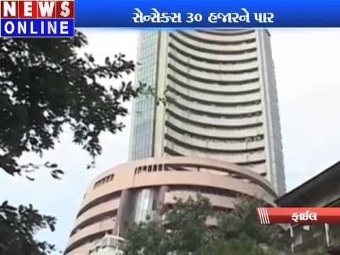 Sensex hits mount 30,000