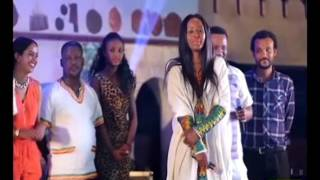 Funny competition between comedians and models - Meskel program