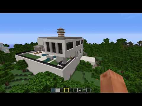 Ich Baue Häuser Wie Bauunternehmer Minecraft - Minecraft moderne hauser