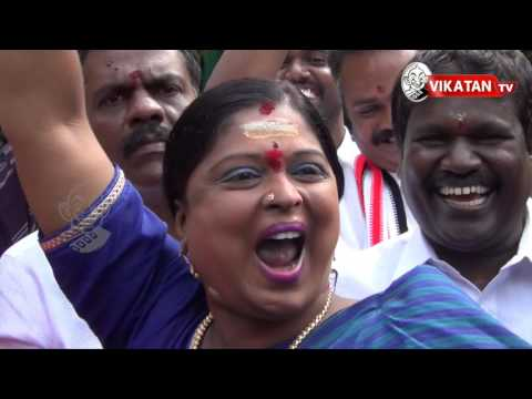 Election Results 2016 : AIADMK Cadres gears up for Celebration