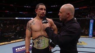 UFC 225: Robert Whittaker & Yoel Romero Octagon Interviews