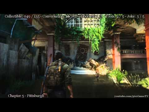 The Last Of Us - All In One Collectibles Incl. All Conversation, Doors, Tools & Jokes Locations