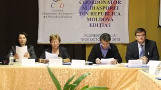Diaspora moldovenească s-a întrunit la Florența