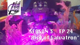 Transformers Prime Legacy Ep 24- [Rise of Galvatron] Stop Motion