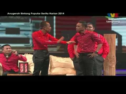 [ABPBH2014]  Bocey/Yasin - Persembahan (Musical Comedy)