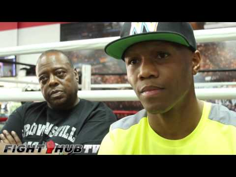 Zab Judah They are not real men they are little girls talks Danny Garcia