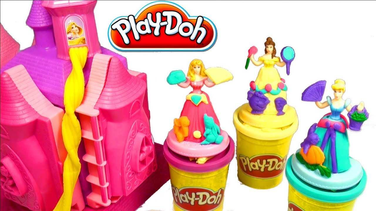 Disney Princess Play Doh Castle Play Doh Prettiest Princess