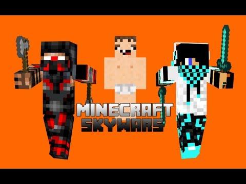 -Minecraft- Skywars: w/kingofthekings55: Funny Days