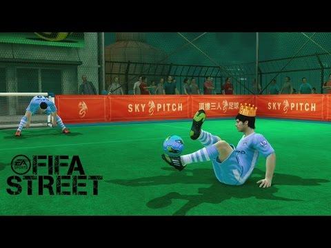 Fifa Street - Manchester City Vs Manchester United  en El Rey de la Pista. Rooney o Aguero?