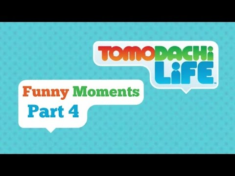 Tomodachi Life Funny Moments Part 4 - Chocolate Milk Gamer