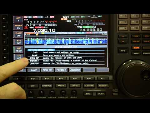 Icom ic 7800 new firmware ver.3.0 by IV3YER