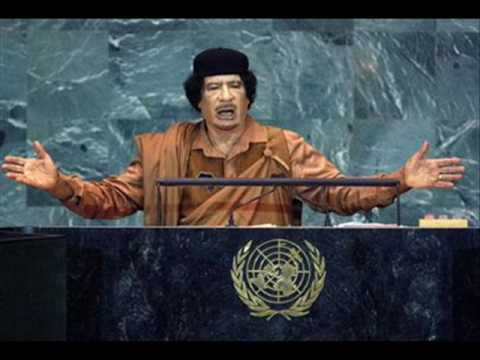 Michael Savage - Gaddafi hijacks the podium at the UN