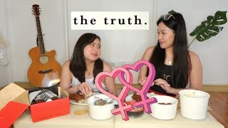 The Truth About Our Relationship....  MUKBANG! | Philippines