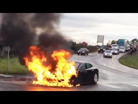 Image Result For Total Electric Cars On Fire
