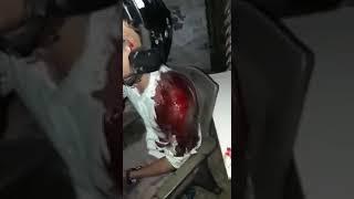 Jay Shree raam na bolnay pay Muslim ka haath kaat nay ki koshish