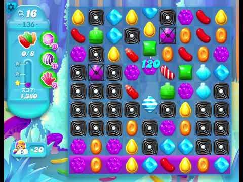 Candy Crush Soda Saga Level 136 攻略【Windows10でゲーム配信】GK編集部